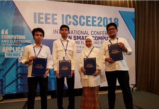 Publikasi Karya Ilmiah Mahasiswa Teknik Elektro Di International Conference On Smart Computing And Electronic Enterprise Di Malaysia