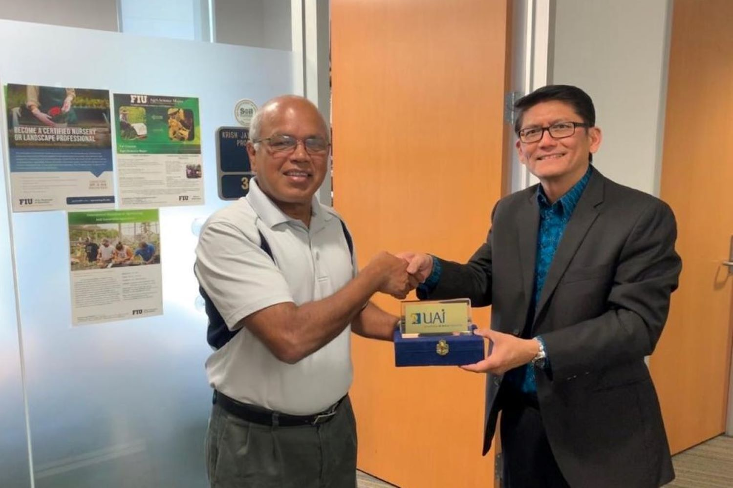 Dean Faculty Of Science & Technology Visited Florida International University